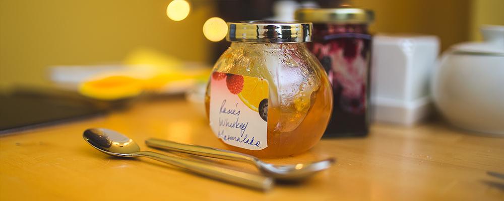 Rosie's homemade whisky marmalade