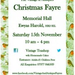 Christms Fayre Herefordshire