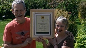 AA 5* award for Guest house